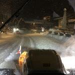 Schneeräumung Bundesstraße mit Steyr und Lindner