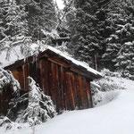 Sturmtief Bianca, Winterwanderweg Richtung Stubenbach