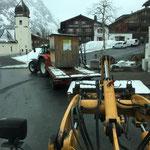 Drittleistung, Hüttentransport nach Zug