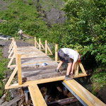 Neue Brücke Gitzibach, Aufbau