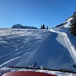 Pistenbully Paana Winterwanderweg Kriegeralpe