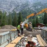 Projekt Zuger Säge, Betonierarbeiten