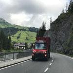 Klärschlammfahrt mit U530 nach Lustenau
