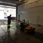 Reinigung Rapid in der Waschhalle