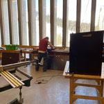 Schlauchkastenbau für FF Lech in der Tischlerei