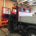 Unimog 1600, Motorstaubremse auf Vordermann bringen