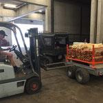 Neue Grillholzgitterkisten - Anpassungsarbeiten für Quad-Hänger