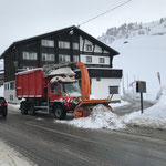Unimog 530 in Zürs