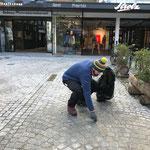 Ortsverschönerung am Rüfiplatz und Mülldienst