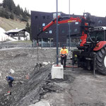 Baustelle aufräumen