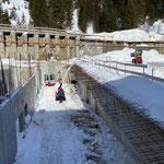 Schneeräumung Gemeindezentrum