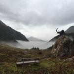 Schöne herbstliche Stimmung auf der Alpe Formarin