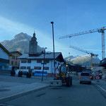 Straßenbeleuchtung Gemeindezentrum für weiteren Bauabschnitt entfernen