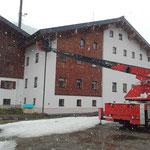 Gemeindehaus Zürs, Antenne versetzen