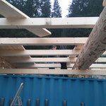 Montage Bauhof-Flugdach - Dachdecken