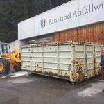 Ennemoser-Container verstellen