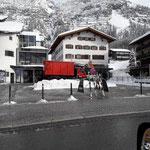 Unimog 530, Schneedepot Rüfiplatz fräsen
