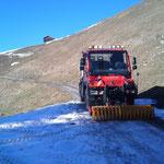 Eisbrechen Winterwanderweg Bürstegg mit U 400