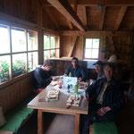 Das Karbühel-Wegeteam beim verdienten Mittagessen