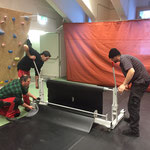 Umbau Sportpark: vom Arlberg Weinberg zurück zur Multifunktionshalle
