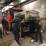 U400 Umbau von Streugerät auf Fass mit Pumpe