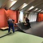 Rückbau Sportpark nach Gore-Tex-Transalp