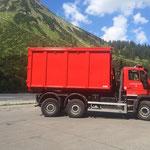 U530 mit neuem Container
