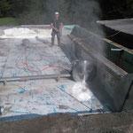 Waldbad Lech - Betonschneidarbeiten