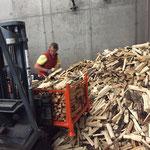 Grillholzlagerung Bauhof