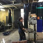 Umbau Feuerwehrhaus,  Vorbereitungsarbeiten am Bauhof