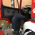 Rüstfahrzeug FF Lech, Rost-Reparaturarbeiten