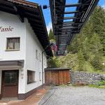 Baustelle GZL, Fassadenreinigung Haus Stefanie