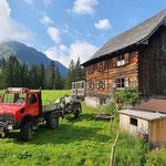 Grube leeren Gasthaus Bodenalpe