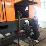 Federstock reparieren Rolba 1500