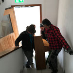 Klaviertransport Musikschule alt - Feuerwehrhaus
