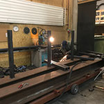 Rohrlager neu für Bauhofdach konstruieren