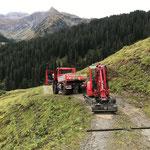 Wegereparaturarbeiten Gaisbühel
