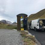 Bushaltetafeln Richtung Lech - Hochkrumbach demontieren
