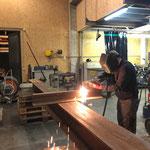 Amboss konstruieren für Lech Classic Festival