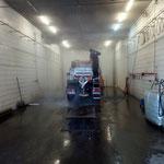 U400 waschen in der Waschhalle