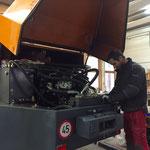 Rolba 1500 Hydraulikschläuche ausbauen