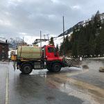 U400, Straßenwäsche Gemeindebaustellen