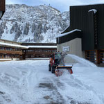 Schneeräumung für Musikschule