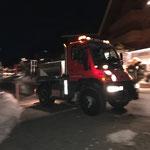 Abendlicher Splittdienst mit U400