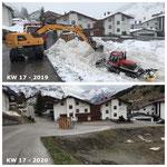 Alle Jahre wieder: Schneevergleich