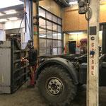 Kipper U1600 reparieren