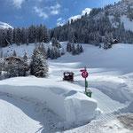 Snow Rabbit 3, Wegepräparierung Stubenbach-Oberstubenbach-Lech