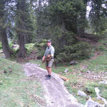 Spullerbachweg: Holzbauarbeiten