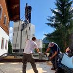 Umbauarbeiten Feuerwehrhaus, Verlegung Anlagen Telekommunikationsanbieter