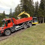 Baggerarbeiten Kracherbach